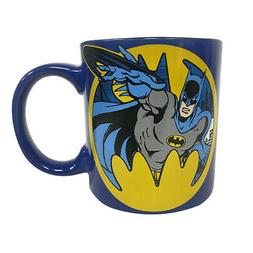 Batman 20oz Jumbo Ceramic Mug Gotham Bruce Wayne Dark Knight