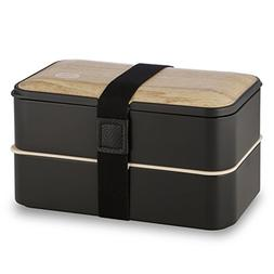 Tabkoe Bento Lunch Box Stackable Meal Prep Food Storage Cont