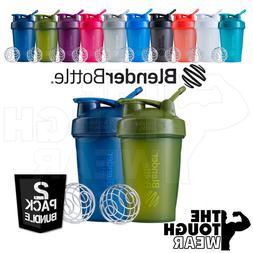 Blender Bottle 2-Pack Classic 20oz Shaker Cup SportMixer - N