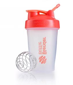 Blender Bottle 20 Oz Ounce With Loop Coral