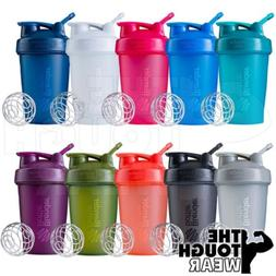 Blender Bottle Classic 20oz Shaker Cup SportMixer - NEW FULL