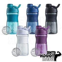 BLENDER BOTTLE SportMixer 20oz Twist Grip Protein Shaker Cup