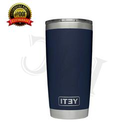 Brand New YETI Rambler 20 OZ Tumbler with MagSlider Lid Navy