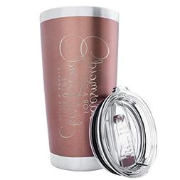 Personalized Bridesmaid Gift Double Wall Tumbler Drinking Th