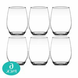 BStemless Wine Glass 20oz Large Size Durable Tumbler Great F