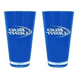 Boelter Brands Bud Light Insulated Plastic Pints, 20-ounce,