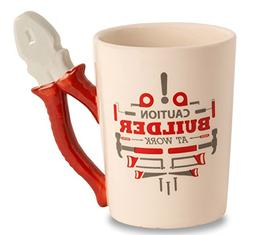 Decodyne Builder at Work Series Coffee Mug with Tool Handle