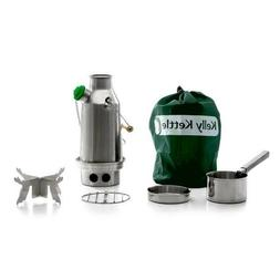 Kelly Kettle Trekker 20 oz. Stainless Steel Basic Kit  Rocke