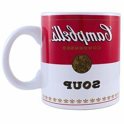 Campbells Soup 20oz Jumbo Ceramic Mug Andy Warhol Coffee Tea