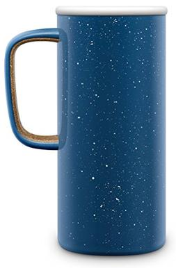 Ello Campy Vacuum-Insulated Stainless Steel Travel Mug, Aval