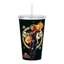 CafePress Captain Marvel Acrylic Double Wall Tumbler 20 oz.