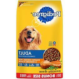 PEDIGREE Adult Chicken Flavor Dry Dog Food 50 Pounds