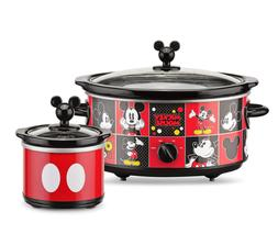 Classic Mickey Mickey Mouse Slow Cooker w/ 20oz Dipper