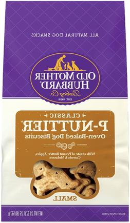 Old Mother Hubbard Classic P-Nuttier Biscuits Baked Dog Trea