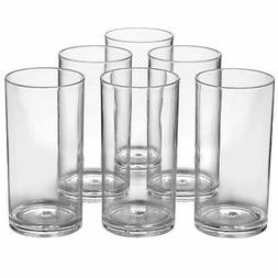 Classic Plastic Tumblers 20-ounce Drinking Cups Dishwasher S
