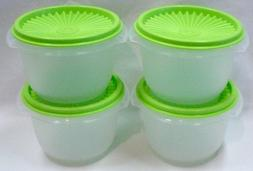 Tupperware Classic Servalier 4 Bowl Set 20 Oz NEW Rare