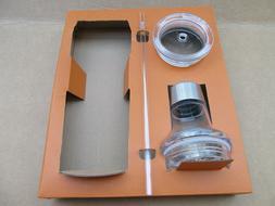 Ozark Trail Clear bottle lid & straw lid set for 20-oz stain