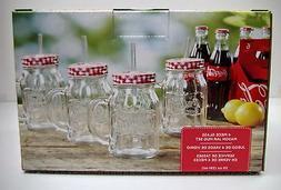 Coca-Cola 4-Pack Mason Jars  - NEW IN BOX