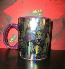 Coffee Mug DISNEY Villains Purple 20 Oz. Malificent Ursula C