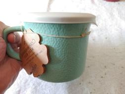Corning Ware  SEIGE 20 Oz Stoneware Soup Cup Mug With Plasti