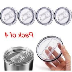 OUNONA 4pcs Cover Spill Proof Splash Resistant Lid For Yeti