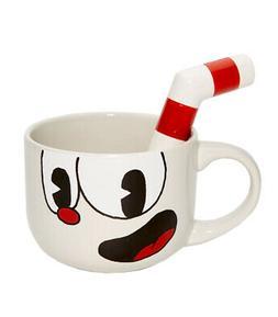 cuphead 20oz ceramic molded mug cuphead