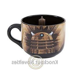 Doctor Who Dalek Ceramic Soup Mug 20oz