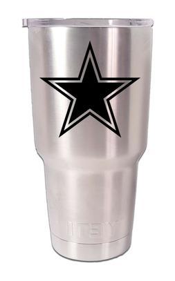 Dallas Cowboys YETI Laser Engraved Colster, 20 or 30 oz. Tum
