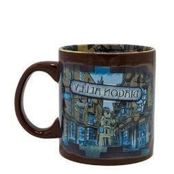 Harry Potter Diagon Alley 20 oz Ceramic Mug by Silver Buffal