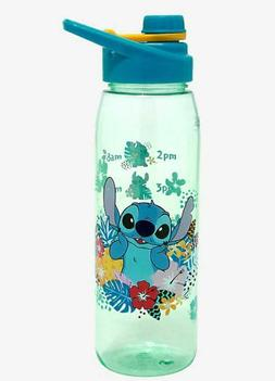 Disney LILO AND STITCH: TROPICAL SCHEDULE WATER BOTTLE 20 oz
