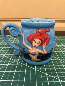 DISNEY PARKS 20 oz COFFEE MUG CUP ARIEL THE LITTLE MERMAID S