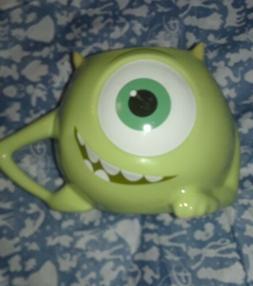 DISNEY PARKS AUTHENTIC 20 oz FIGURAL COFFEE MUG CUP MIKE WAZ