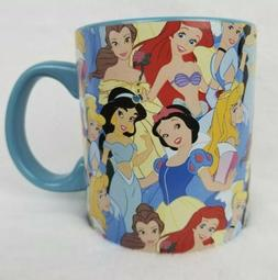 DISNEY Princesses Large Coffee Mug 20 Oz Silver Buffalo Blue