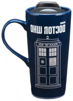 Vandor Doctor Who 20 Oz. Heat Reactive Ceramic Travel Mug