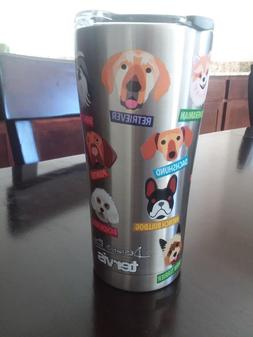 TERVIS Dog Breed SIC Edge Stainless Steel 20 oz Tumbler with