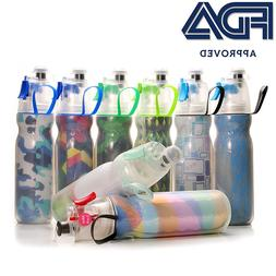 Double-Wall Insulated Bottle, 600ml Misting <font><b>Water</