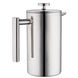 MIRA Double Wall Tea & Coffee Brewer French Press | Stainles