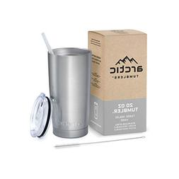 Arctic Tumblers Stainless Steel Camping & Travel Tumbler wit