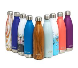 MIRA Double Walled Stainless Steel Cola Shape Water Bottle,