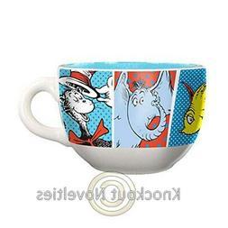 Dr. Seuss 20 oz. Ceramic Soup Mug Drink Coffee Tea Holder