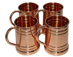 Drinkware Accessories Hammered Copper Moscow Mule Mug Capaci