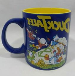 Disney DuckTales 20oz Collectible Coffee Mug Cup Blue Yellow