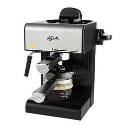 Mr. Coffee BVMC-ECM180 Steam Espresso with Starter Set, Blac