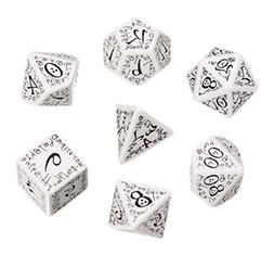 Elvish Dice White/Black  Board Game