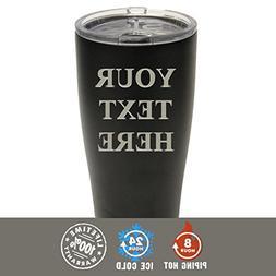 Engraved Custom SIC Cup Tumbler - Personalized 20 oz Powder