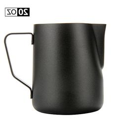 espresso coffee milk frothing pitcher
