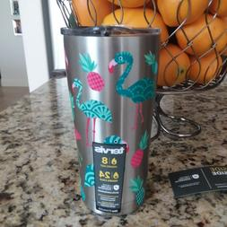 TERVIS FLAMINGO PINEAPPLE SIC Edge Stainless Steel 20 oz Tum