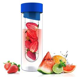 Asobu Flavor It 20 Ounce Glass Water Bottle With Fruit Infus