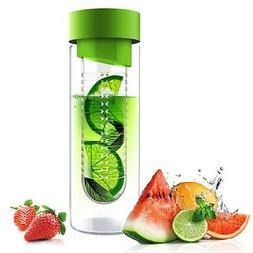 Asobu Flavor It: 20-Oz Luxury Glass Water Bottle + Fruit Inf