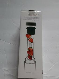ASOBU Flavour It 20 oz Fruit Infuser Reusable Glass Water Bo